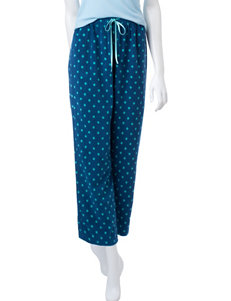 Hannah Teal Pajama Bottoms