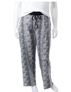 Rene Rofe Black Pajama Bottoms