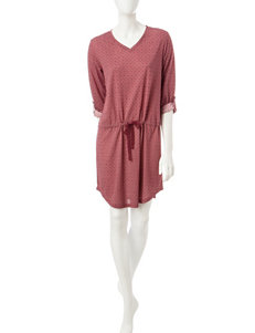 Hanes Burgundy Nightgowns & Sleep Shirts