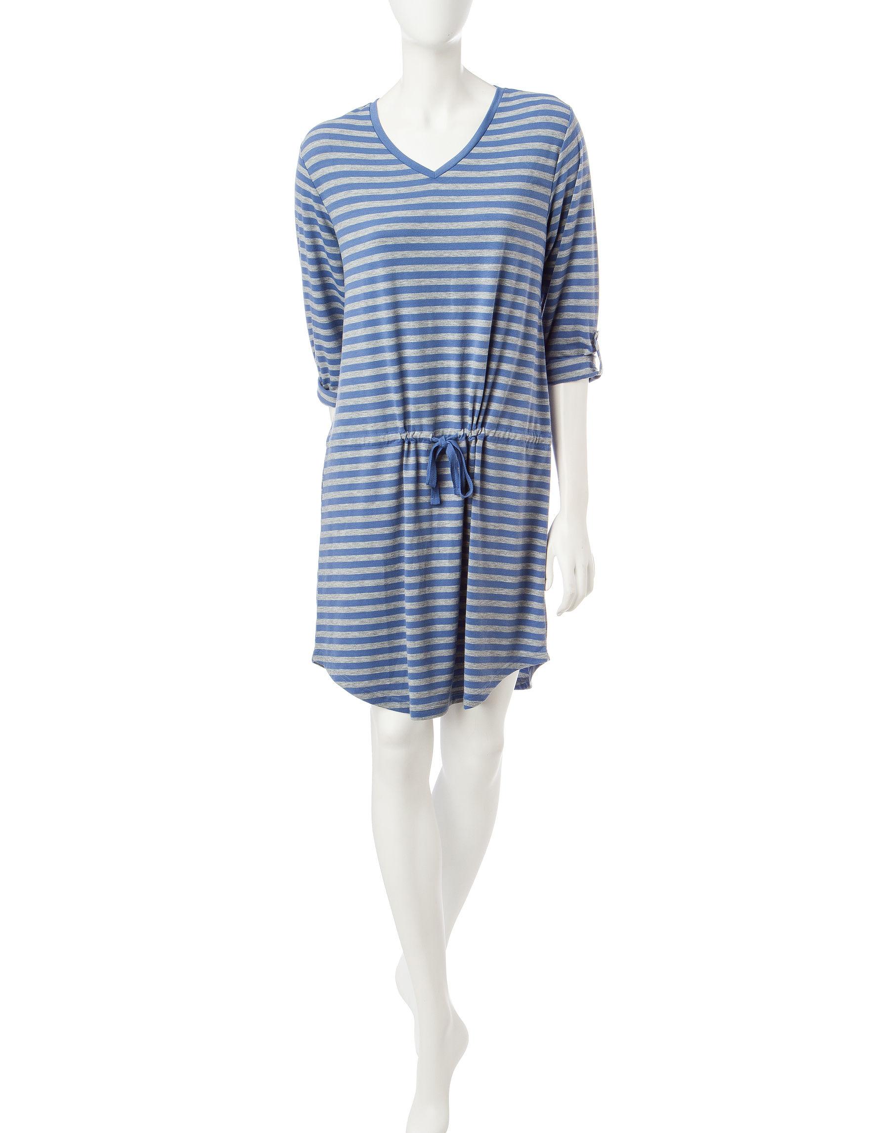 Hanes Indigo Nightgowns & Sleep Shirts