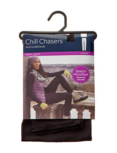 Chill Chasers Plus-size Microfiber Leggings