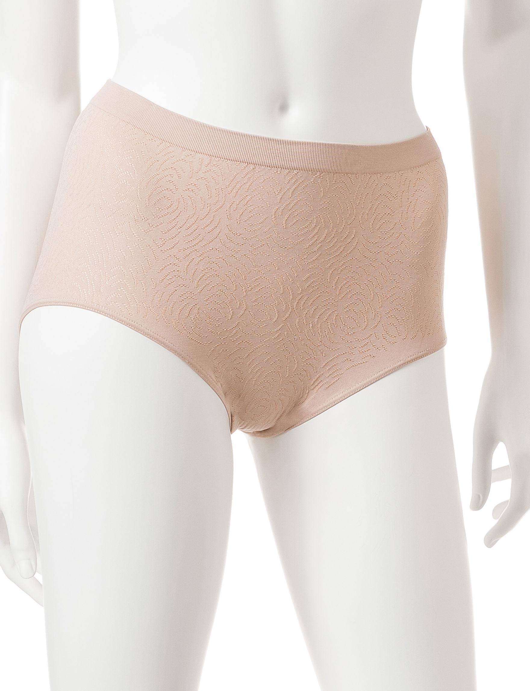 Bali Nude Panties Briefs High Waist Seamless