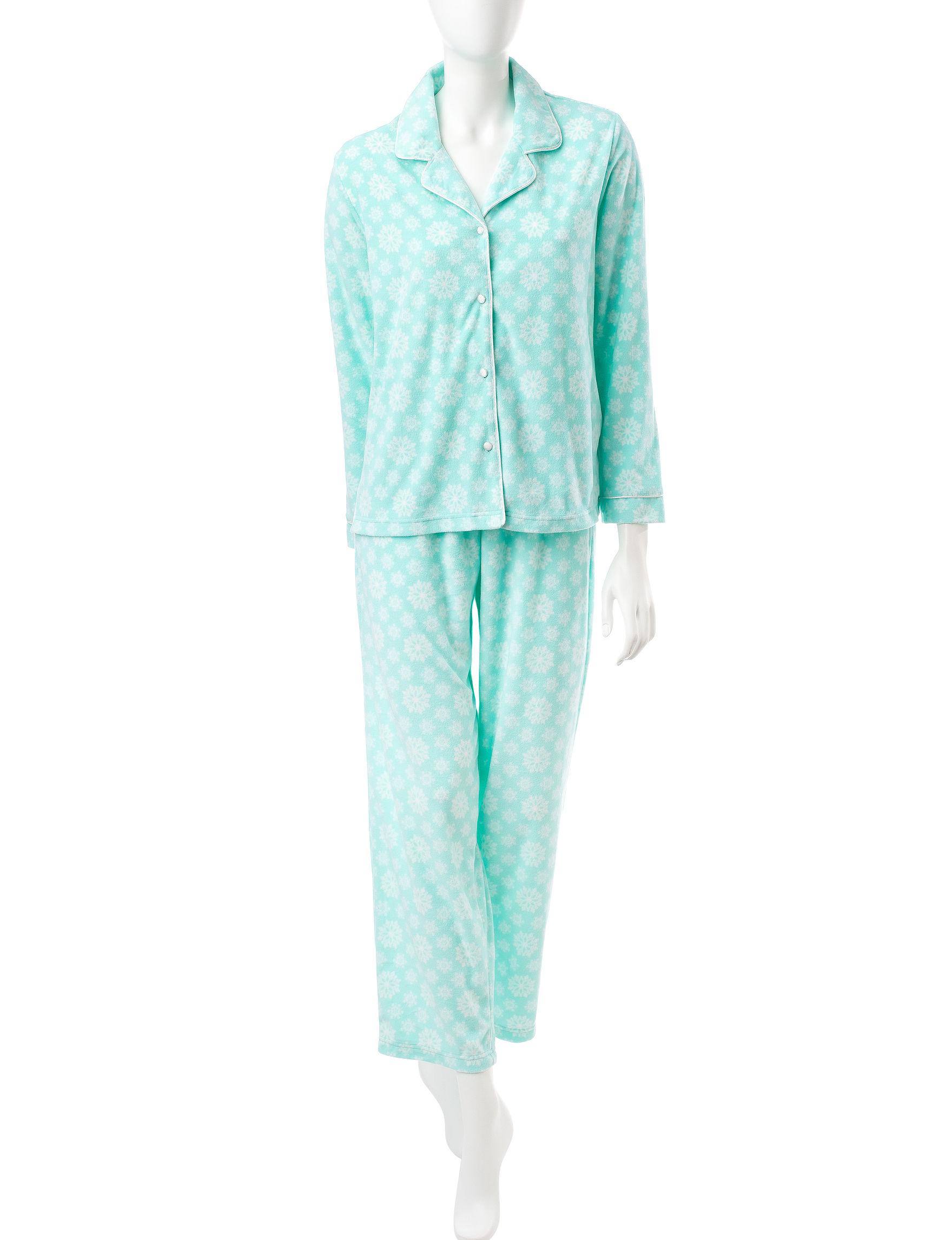 Hannah Green Pajama Sets
