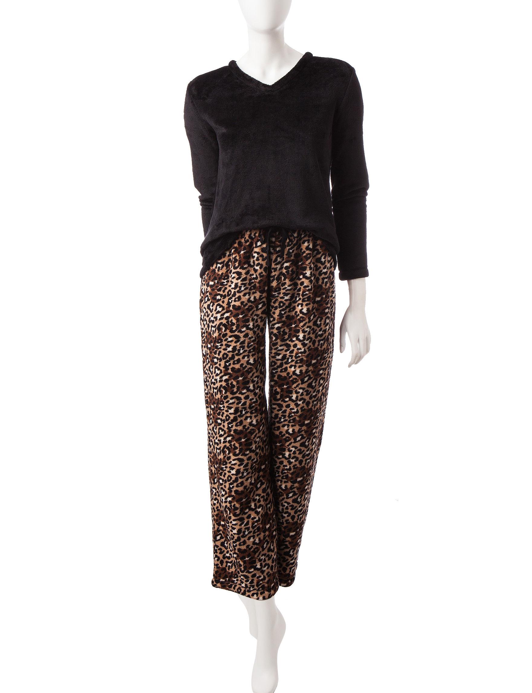 Hannah Tan / Black Pajama Sets