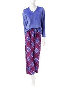 Hannah Purple Pajama Sets