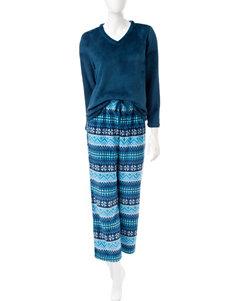 Hannah Blue Pajama Sets