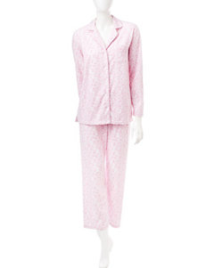 Laura Ashley Pink Pajama Sets