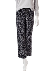 Goodnight Kiss Black Pajama Bottoms