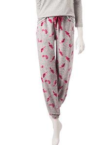Goodnight Kiss Grey Pajama Bottoms