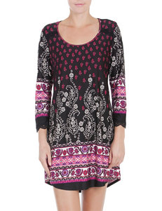 Linea Donatella Boho Print Sleep Gown
