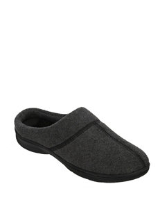 Dearfoams Active Fleece Clog Slippers