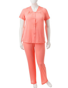 Vanity Fair Plus-size Tricot 2-pc. Pajamas