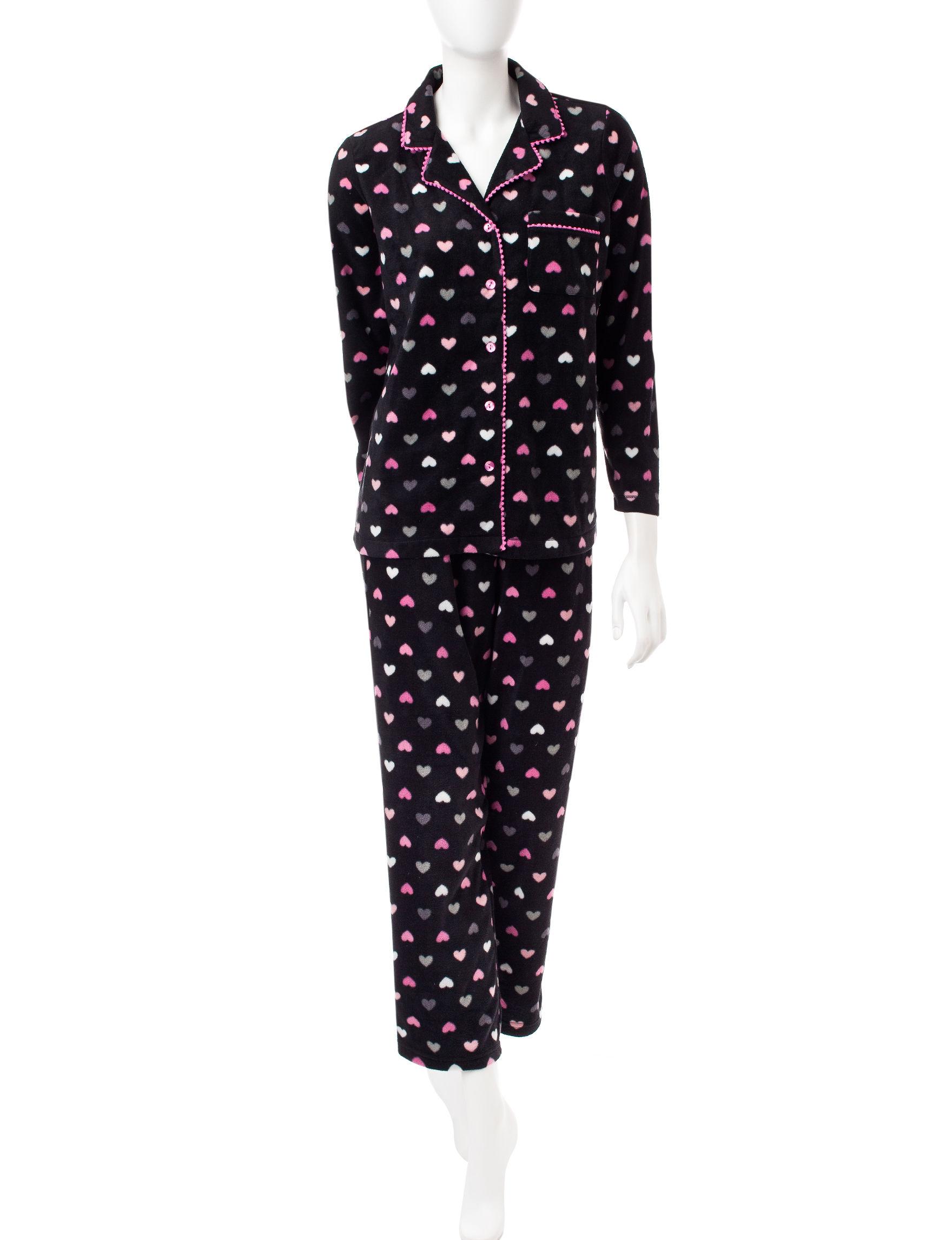 Pillow Talk Hearts Pajama Sets