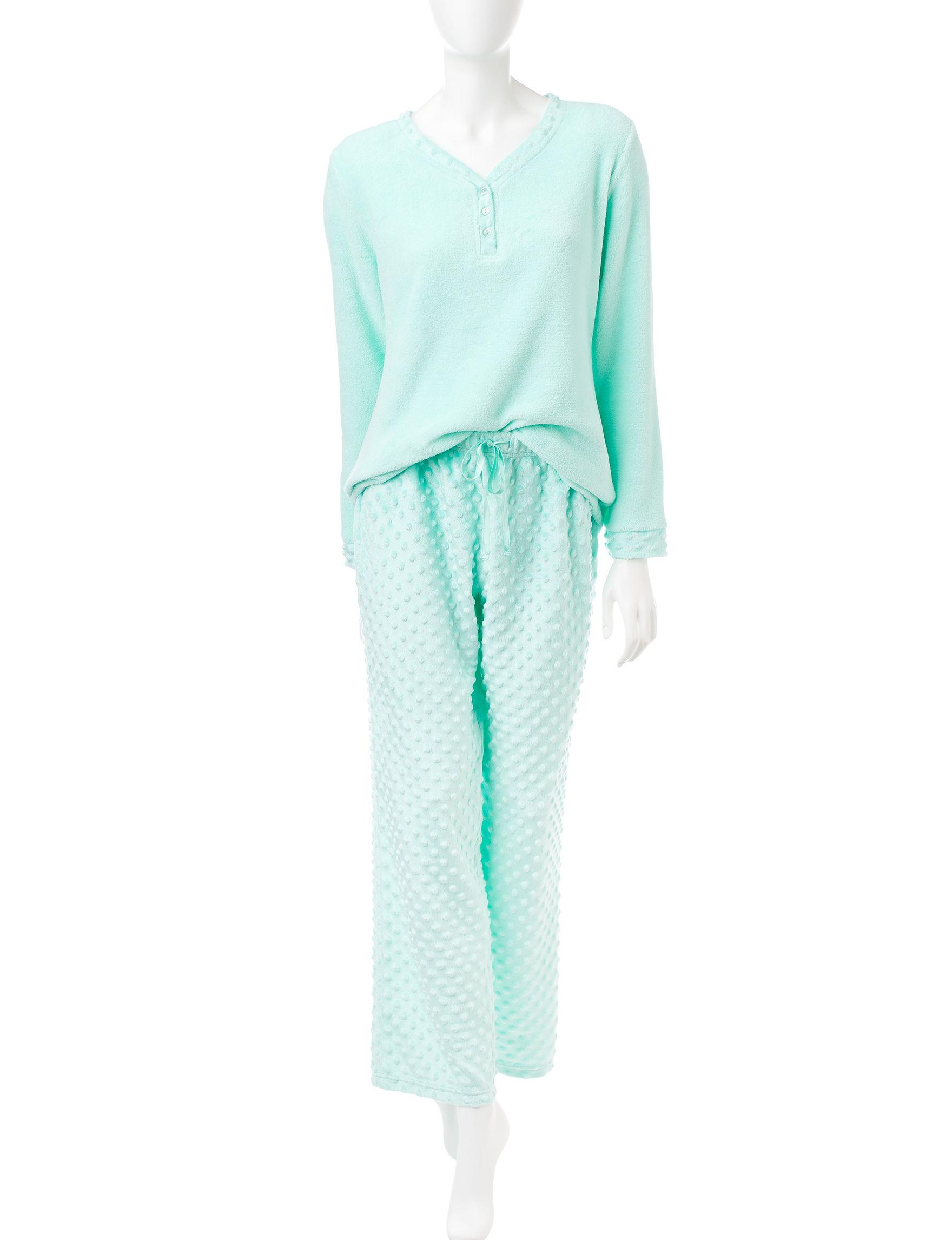 Hannah Mint Pajama Sets