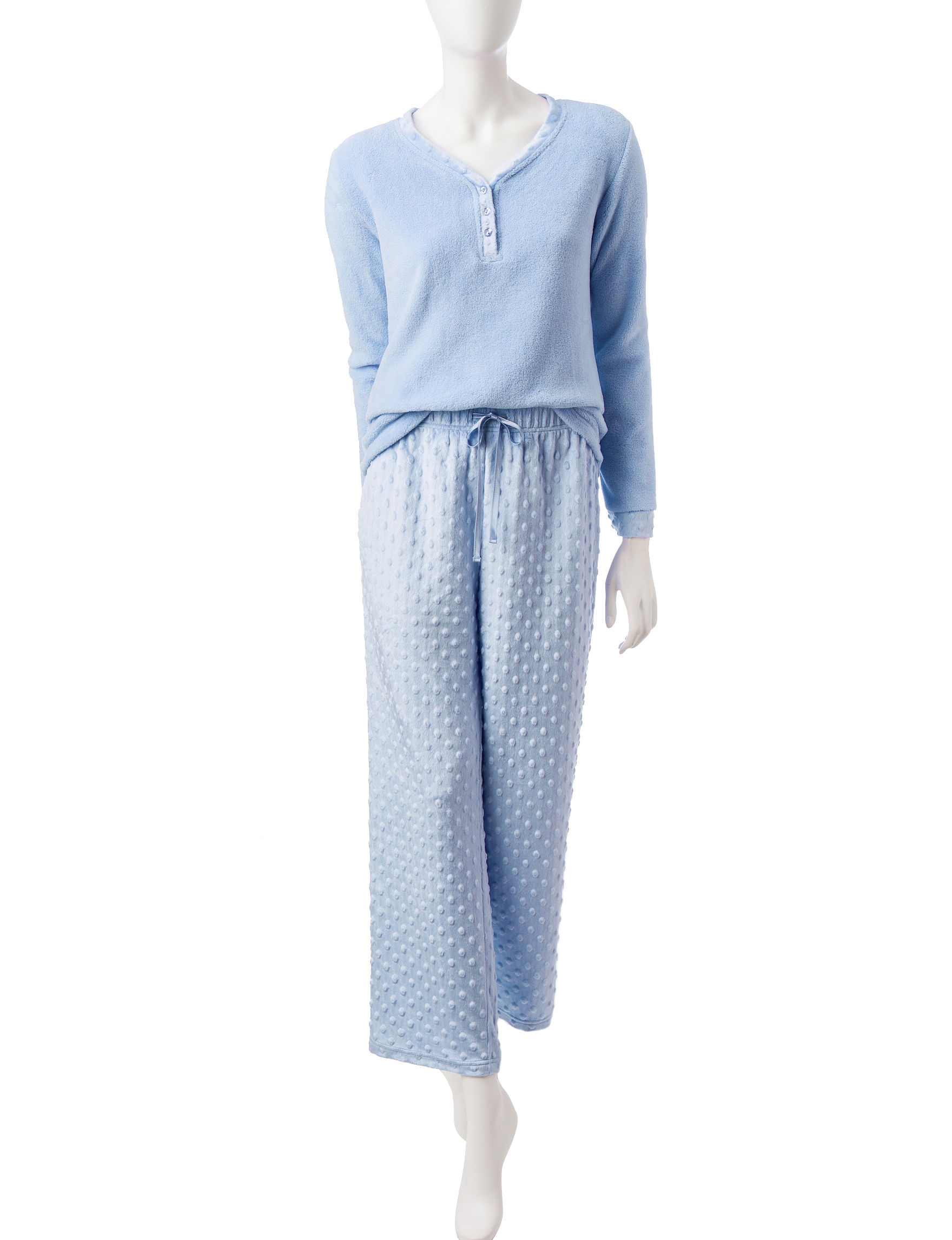 Hannah Blue Pajama Sets