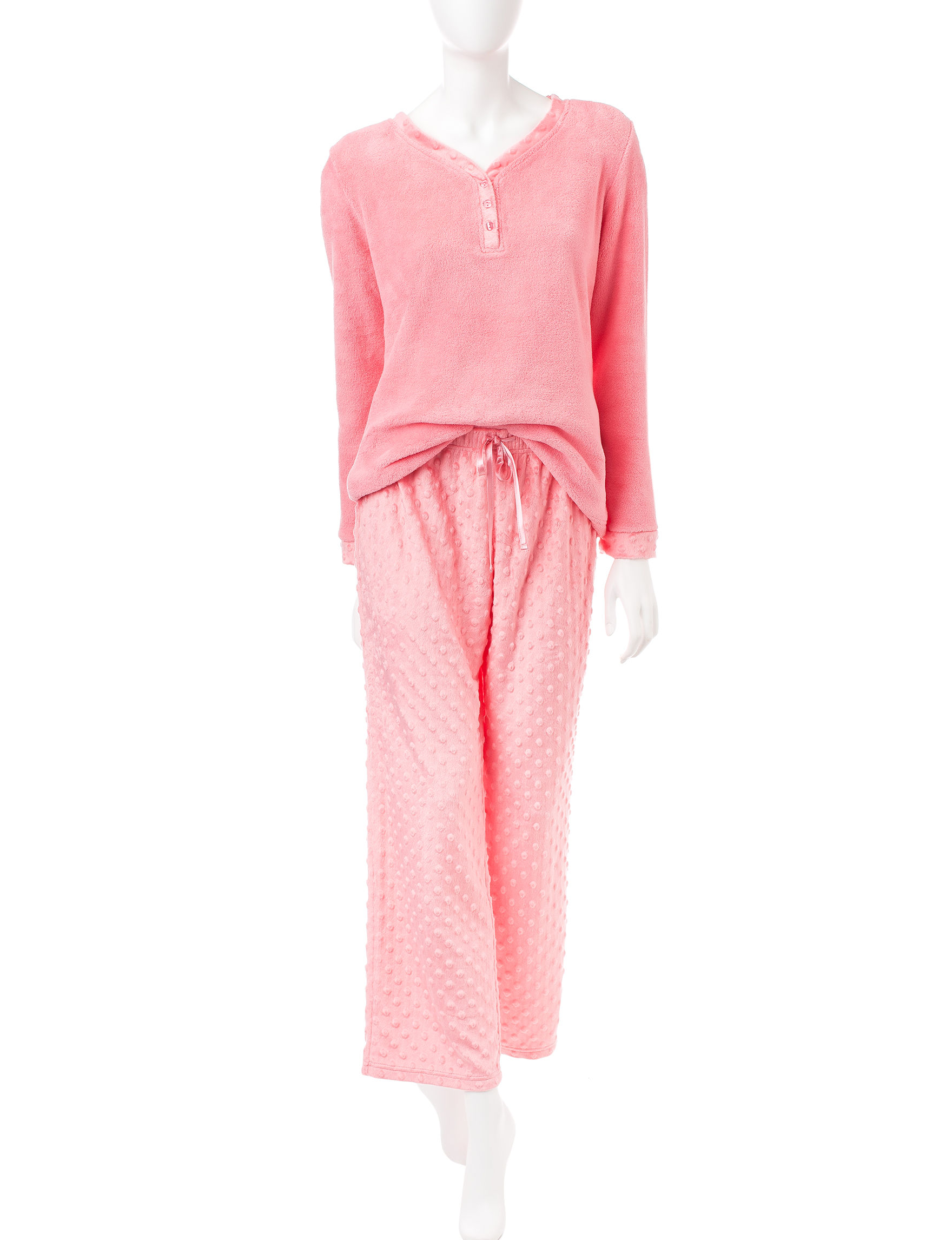 Hannah Orange Pajama Sets