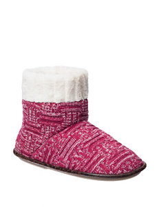 PJ Couture Basketweave Fur Cuff Boots