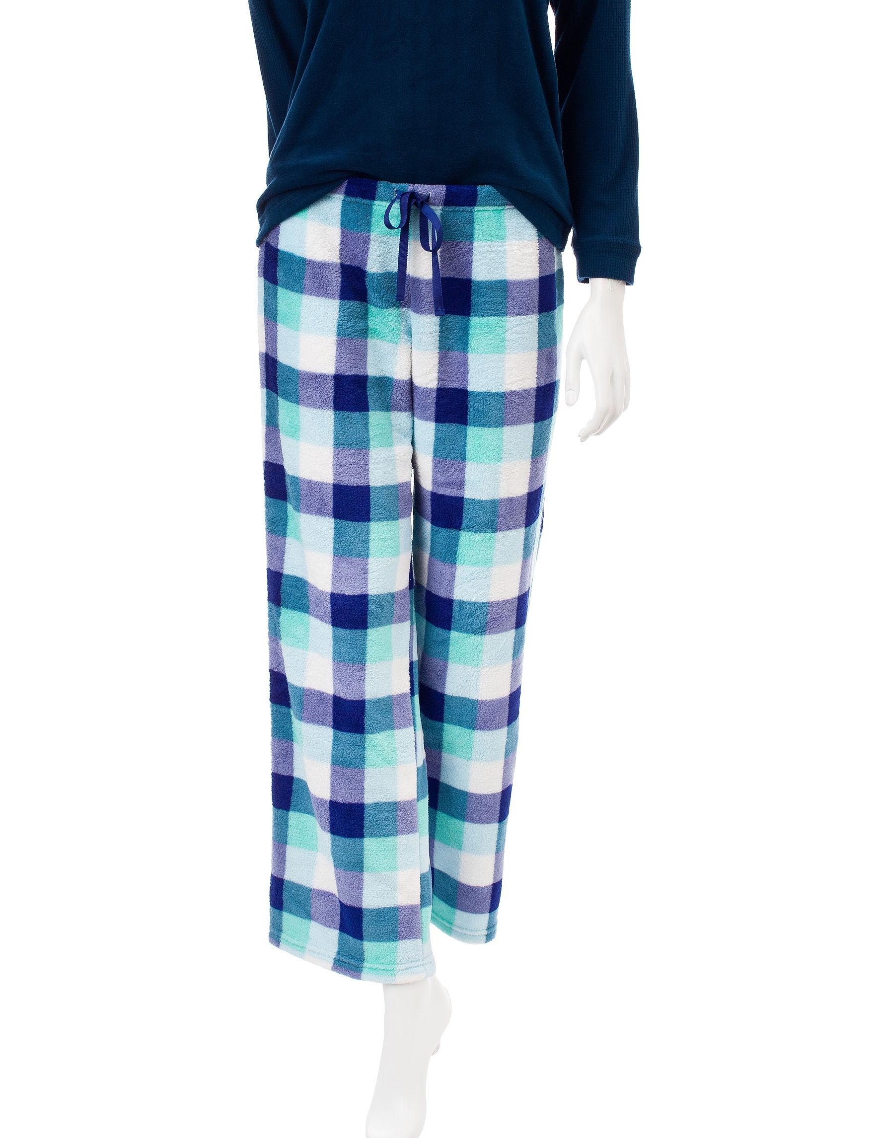 Wishful Park Blue Pajama Bottoms