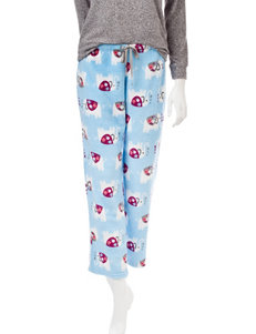 Wishful Park Blue Multi Pajama Bottoms