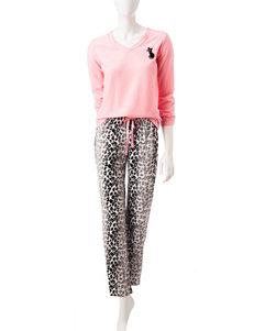 Hannah Peach Pajama Sets
