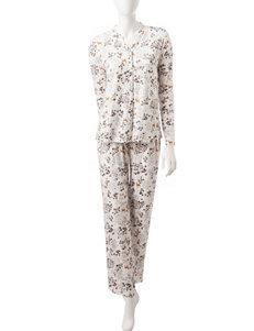 Hanes 2-pc. Woodland Pajamas