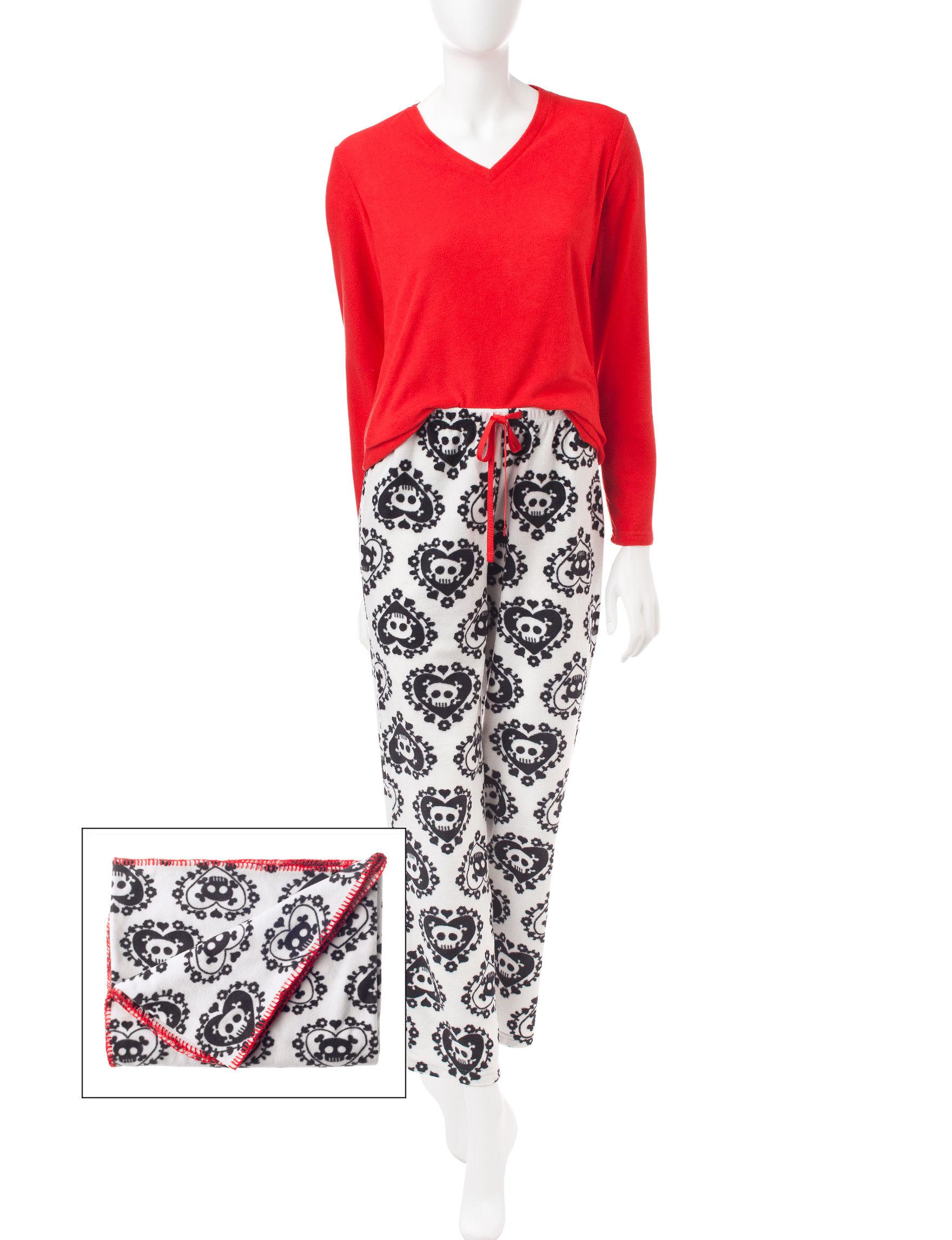Wishful Park Red Pajama Sets