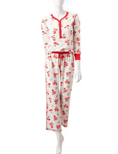 PJ Couture Ivory Pajama Sets