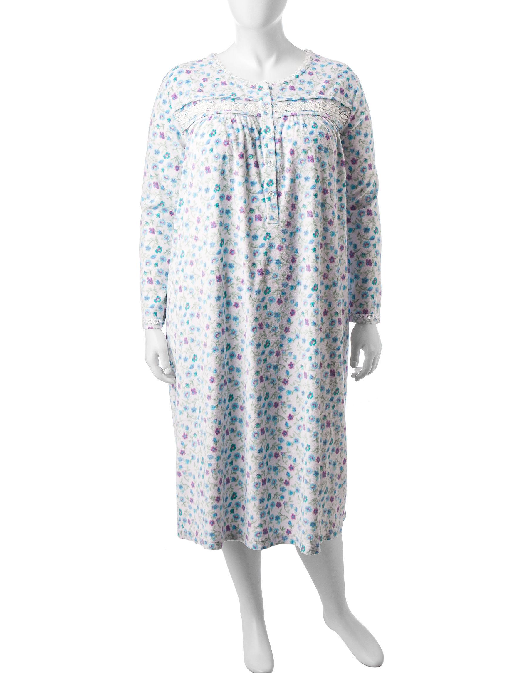 Rebecca Malone Ivory Nightgowns & Sleep Shirts