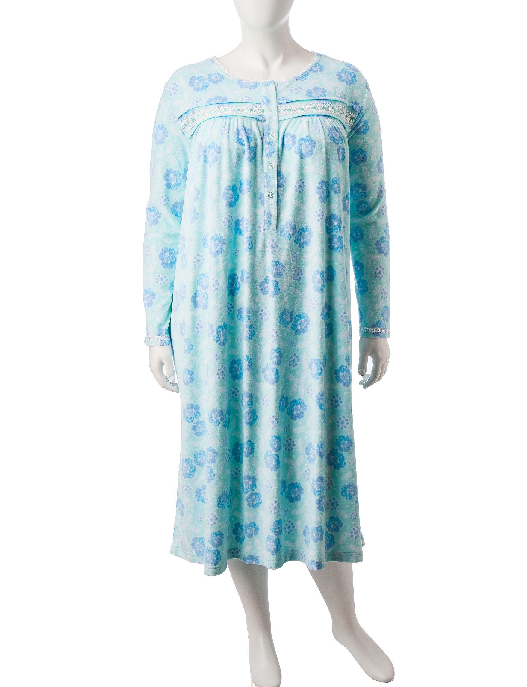 Rebecca Malone Green Nightgowns & Sleep Shirts