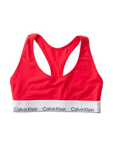 Calvin Klein Red Bras Bralette