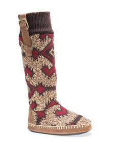 MUK LUKS Angela Boot Slippers