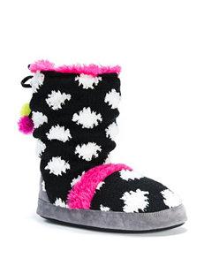 MUK LUKS Jenna Boot Slippers