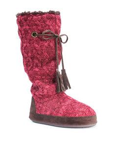 MUK LUKS Grace Boot Slippers