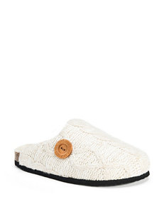 MUK LUKS Sherpa-Lined Clog Slippers