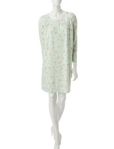 Aria Paisley Floral Print Nightgown