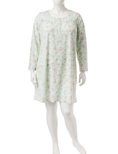 Aria Plus-size Paisley Floral Nightgown