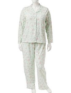Aria Green Pajama Sets