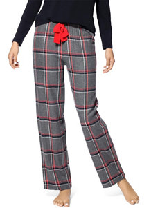 Hue Noelle Plaid Print Pajama Pants