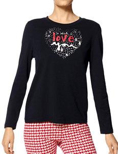 Hue Plus-size Love You Pajama Top