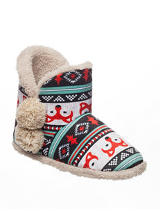 Kensie Teal Slipper Boots & Booties