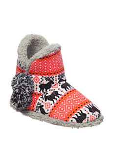 Kensie Red Slipper Boots & Booties