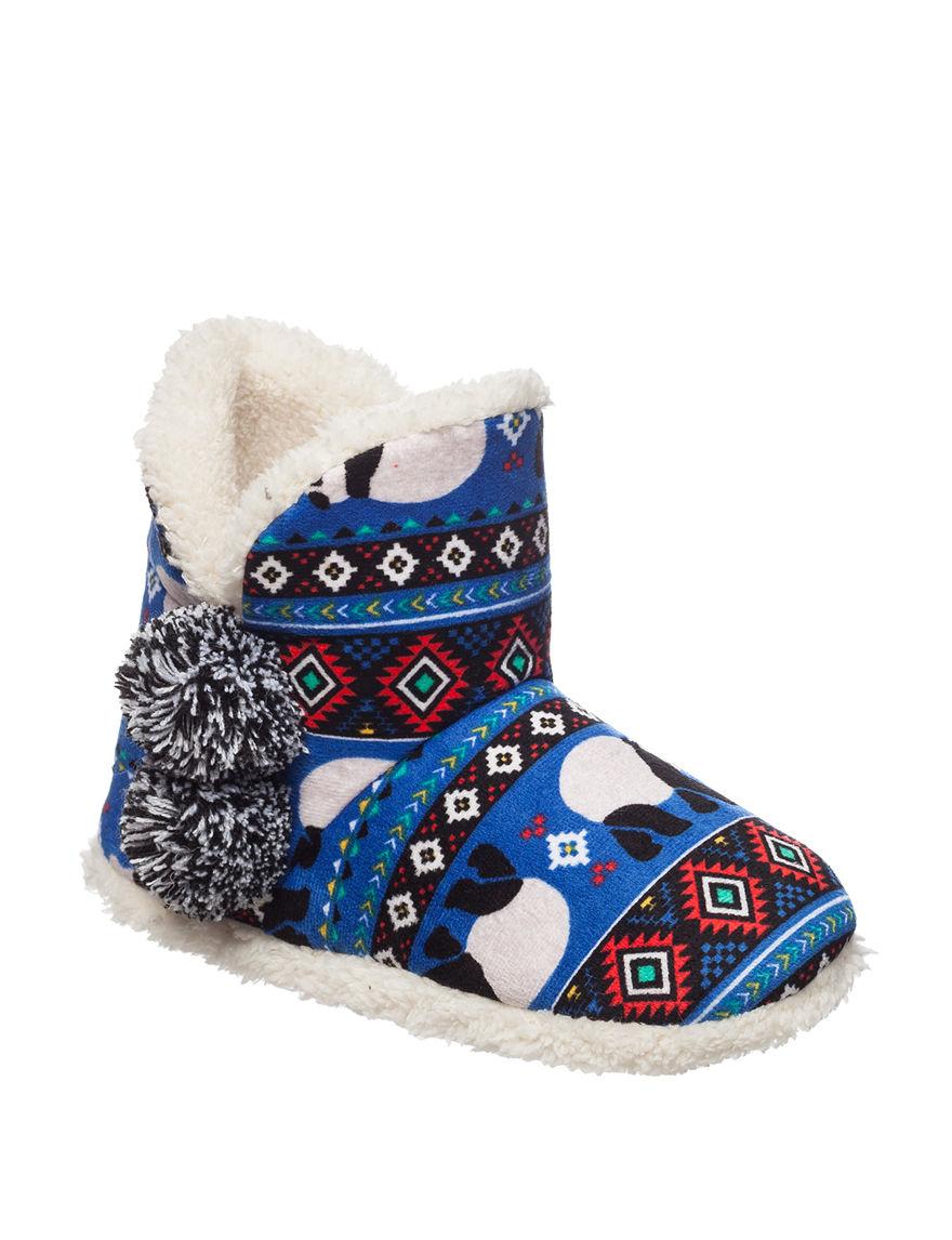 Kensie Blue Slipper Boots & Booties