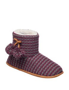 Chill Chasers Magenta Slipper Boots & Booties