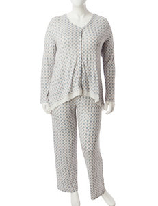 Ellen Tracy Green Pajama Sets