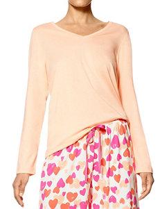 Hue Peach Pajama Tops