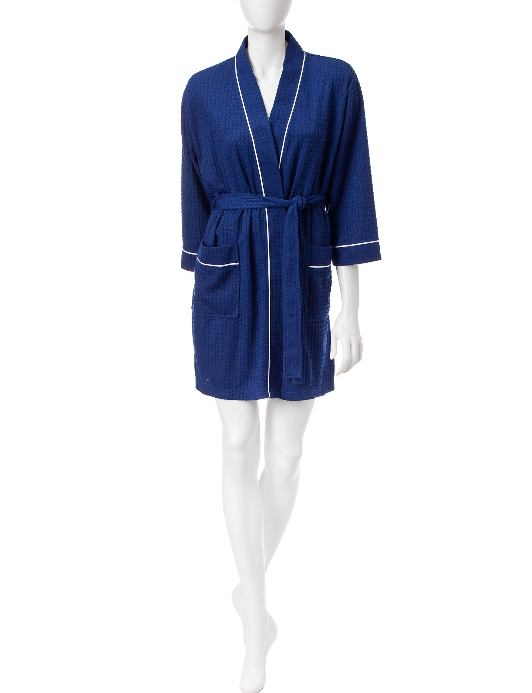 Jasmine Rose Navy Robes, Wraps & Dusters