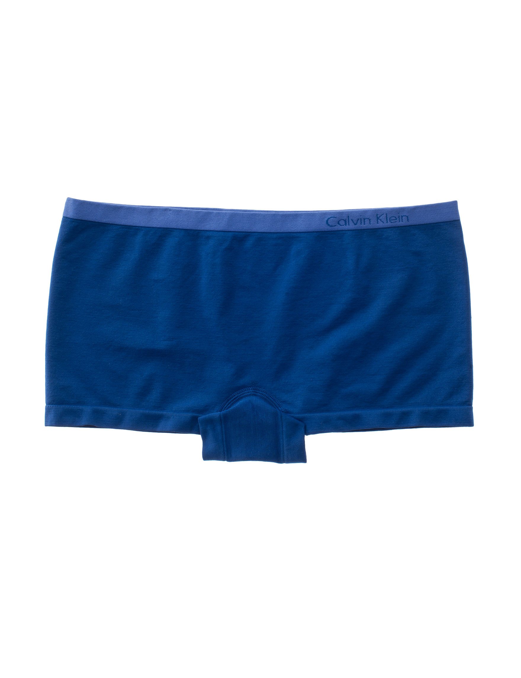 Calvin Klein Blue Panties Boyshort Seamless