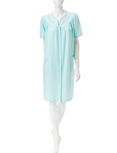 Jasmine Rose Aqua Robes, Wraps & Dusters