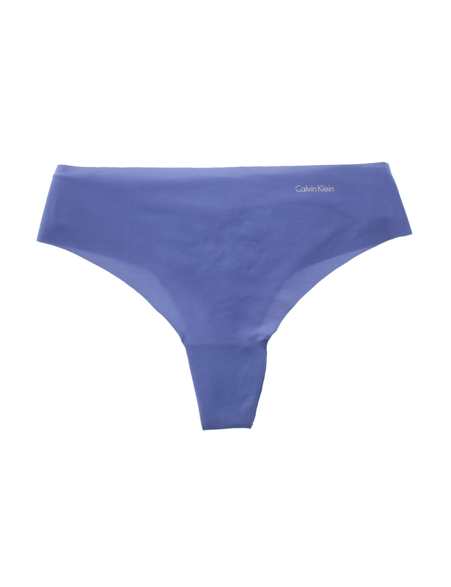 Calvin Klein Blue Panties Thong