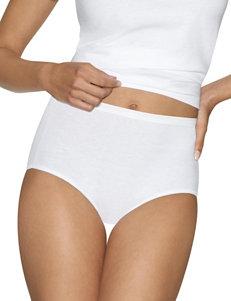 Hanes White Panties Briefs